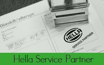 Hella Service partner - Bruhns Biler