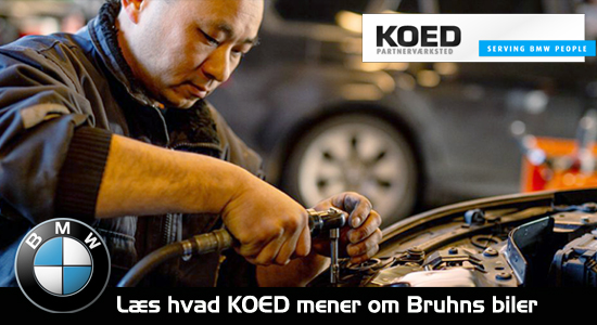 Hvad mener KOED om Bruhns Biler