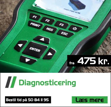 diagnosticering af bilproblemer fra 475 kr. hos bruhns biler med professionelt udstyr