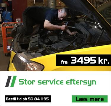stort service eftersyn hos bruhns biler fra 3495