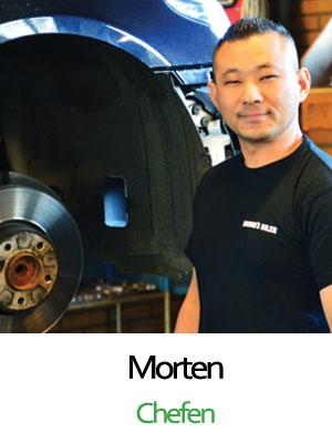 Bruhns biler mekaniker Morten Bruhn Jessen