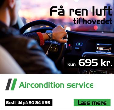 Aircondition service hos Bruhns biler - Bil mekaniker