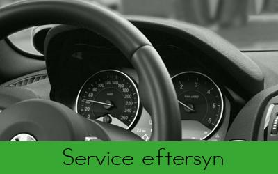 Service eftersyn hos Bruhns biler