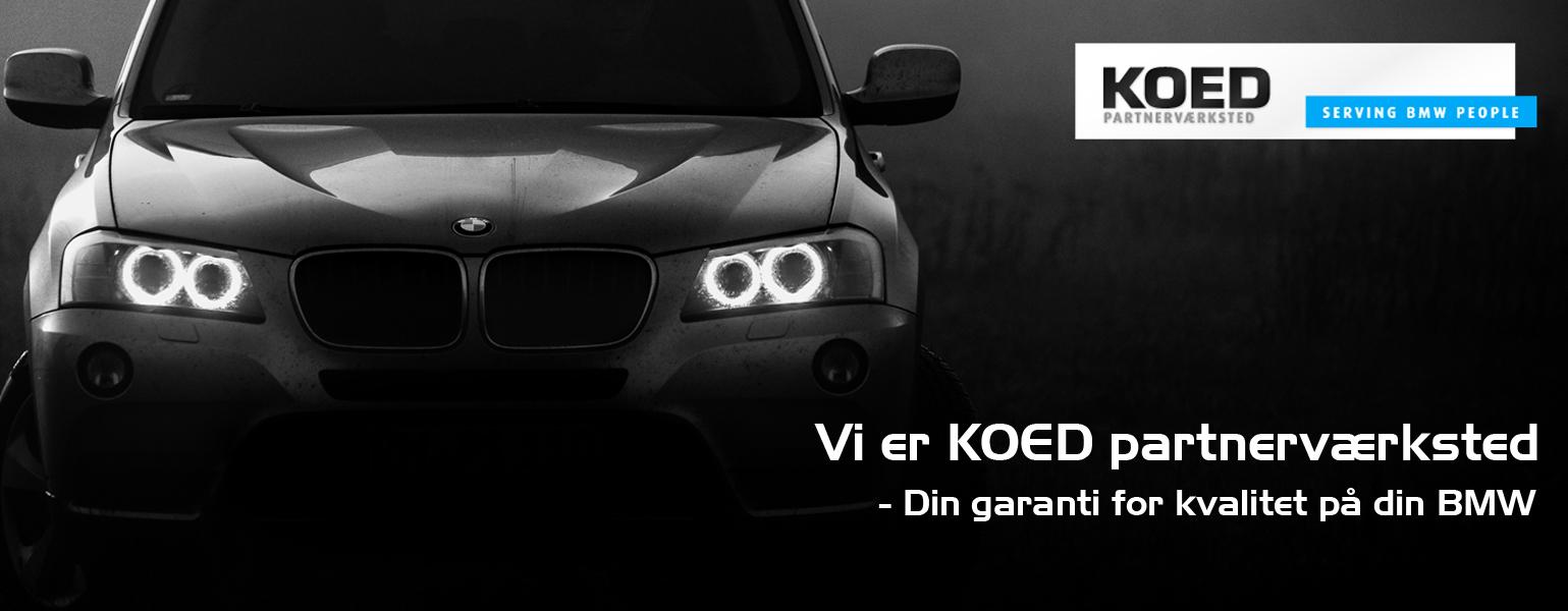 KOED partnerværksted - Bruhns Biler - Mekaniker til BMW biler