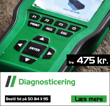 diagnosticering af bilproblemer fra 475 kr. hos bruhns biler med professionelt udstyr - BMW Audi Fiat Passat