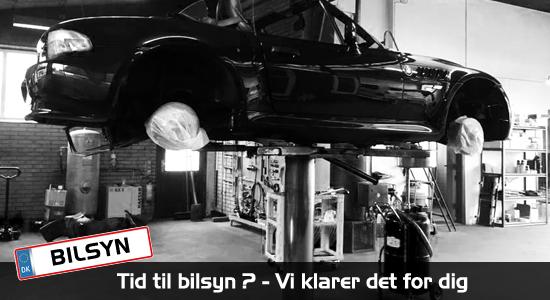 Klargøring til syn - Bruhns Biler -Mekaniker på BMW, Audi, Passat, Fiat biler