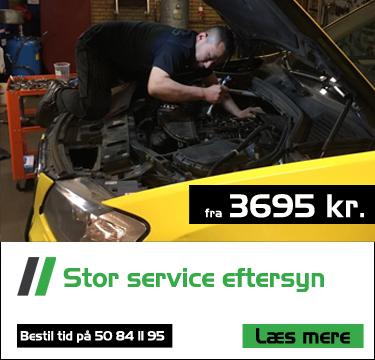 Stort service eftersyn fra Bruhns biler - BMW speciale Skoda Audi Passat