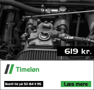 Timeløn hos Bruhns biler - Mekaniker ved Haderslev - speciale i BMW