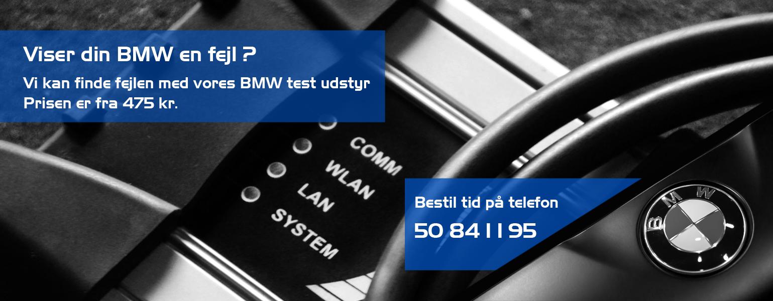 Diagnotisering af din BMW hos Bruhns biler