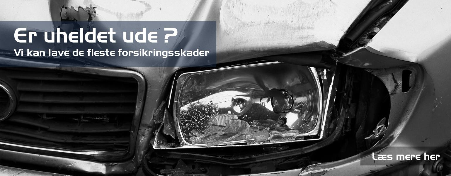 Forsikringsskader på bilen - Det klare bruhns biler