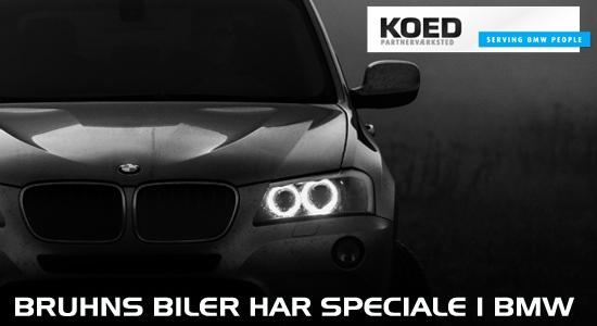 Brunhs biler har speciale i BMW