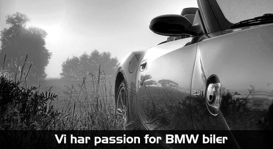Vi har passion for BMW biler hos Bruhns Biler