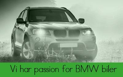 Hos Bruhns biler har vi passion for BMW biler