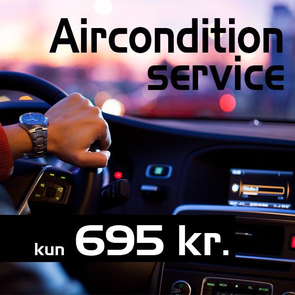 Aircondition service fra Bruhns biler