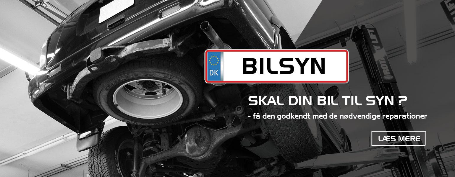Bruhns Biler - Skal din bil til syn ?