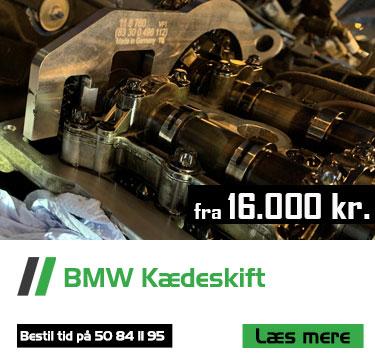 BMW kædeskift Bruhns biler