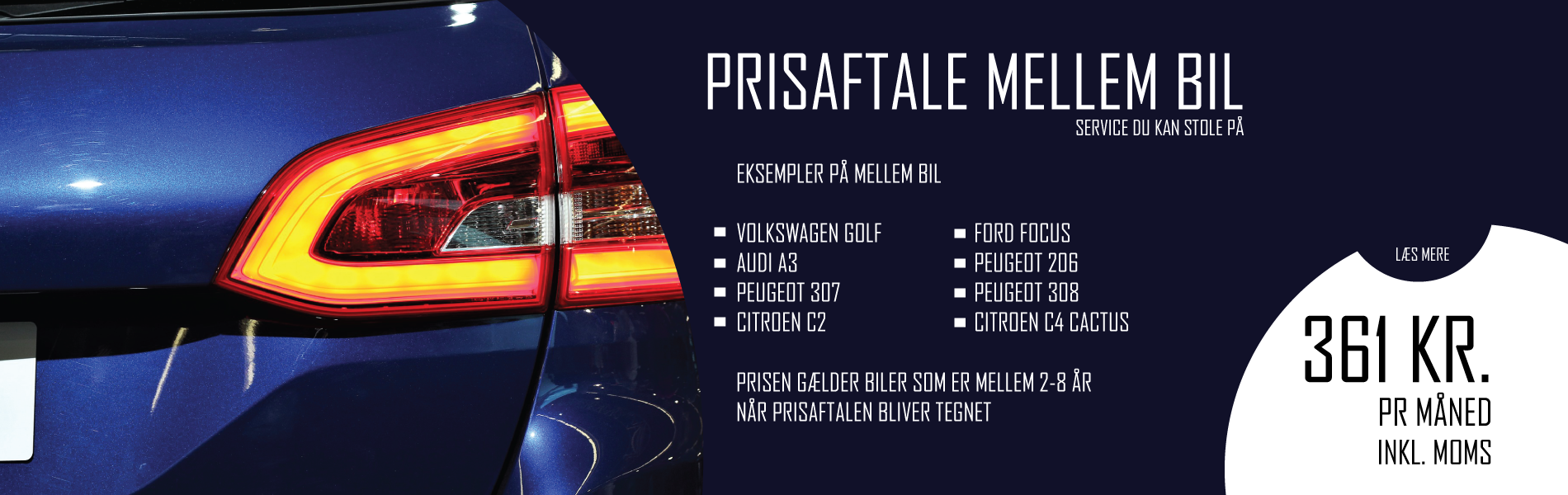 Prisaftale på din bil fra Bruhns biler